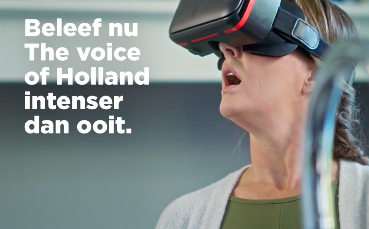 Spaar voor the voice of holland gadgets bij plus